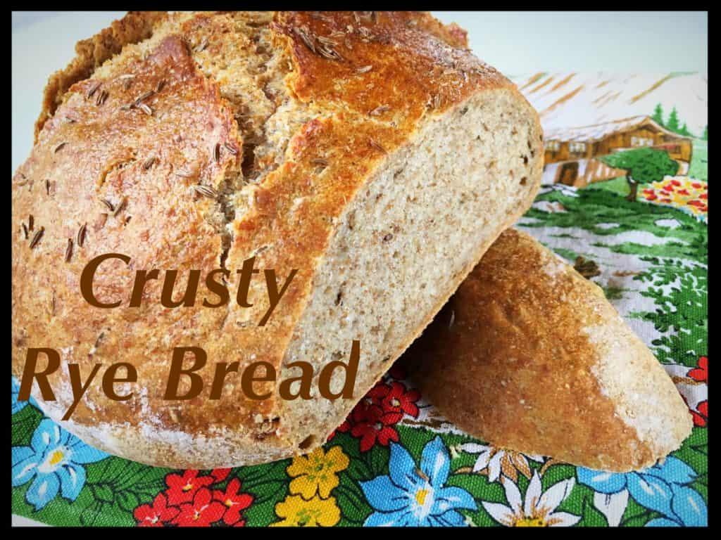 Crusty Rye Bread