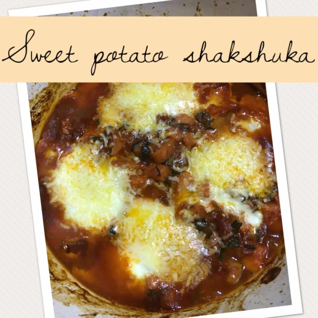 Sweet Potato Shakshuka