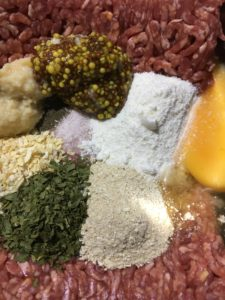 Beef patty ingredients