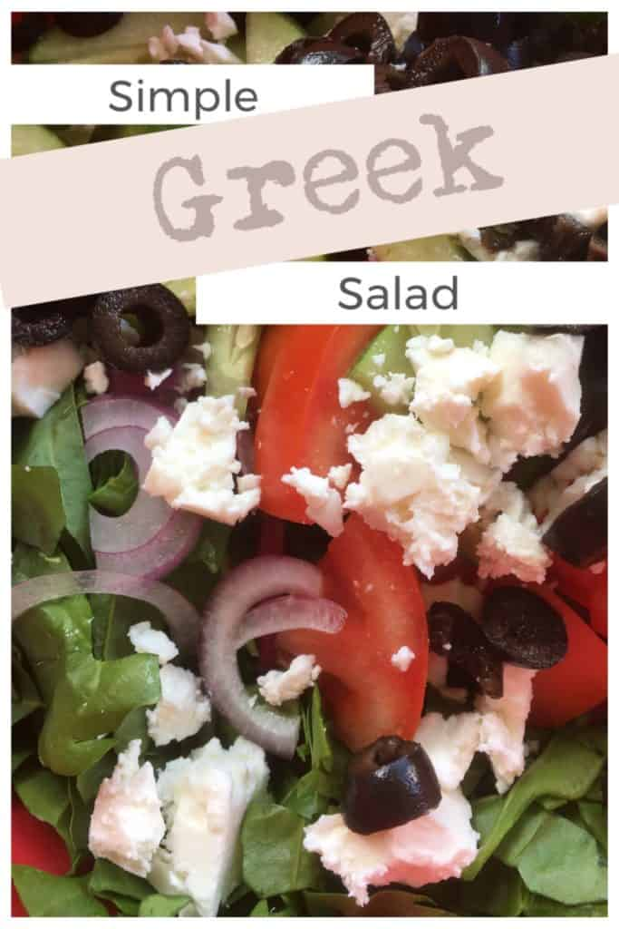 Simple Greek Salad