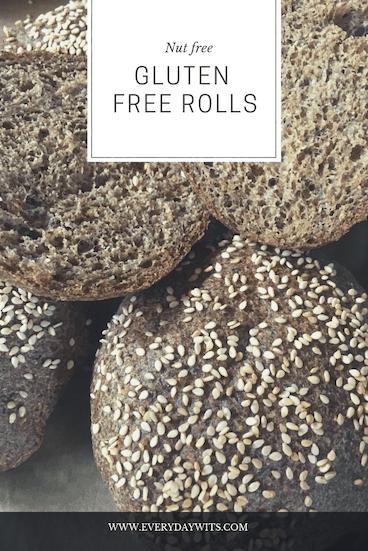 Nut free, gluten free rolls